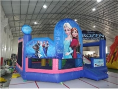 5 en 1 Combo Frozen Bounce House