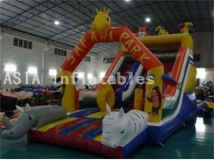 Diapositiva inflable de Safari Park