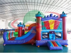 Personalizado Coma Inflatable Bouncer And Slide Combo