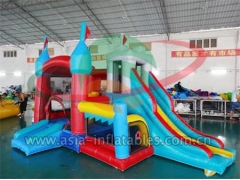 Personalizado Combo Inflatable Mini Bouncer 4 en 1