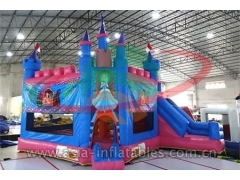 Ultimate Inflatable Cinderella Bouncy Castle para evento
