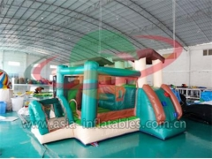 Personalizado Inflatable House Bouncer Combo para niños