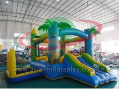 Jocob's Ladder,Inflatable Jungle Forest Mini Bouncer