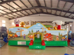 Instalación fácil Puente inflable educativo de Little Builder