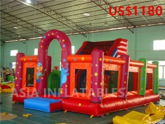 Clown Theme Inflatable Bouncer Combo