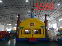 Inflatable Castle Bouncer Combo For Kids in stock and factory price