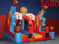 Shooting Stars Inflatable Basketball game in stock and factory price
