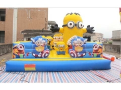 Inflatable Zoo Bounce