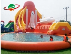 Inflatable Dinosaur Waterpark