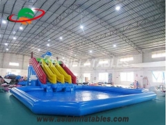 Inflatable Dophin Water Park