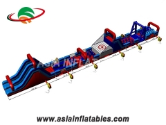Inflatable Racing Game Inflatable Obstacle Sport Game For Adult And Kids