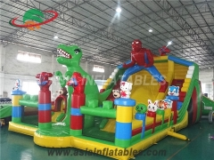 parque jurásico inflable