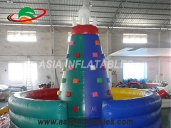 Touchdown Inflatables Durable Inflatable Climbing Wall Inflatable Rock Climbing Wall For Kids