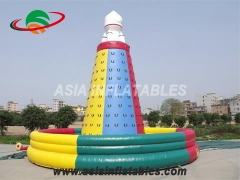 Customized High Quality Inflatable Rock Climbing Wall Inflatable Interactive Games