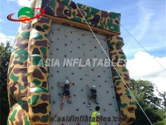 Indoor Inflatable Air Rock Mountain Climbing Wall, Inflatable Climbing Walls Sport Games & Interactive Sports Games