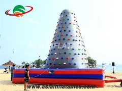 Popular Indoor Inflatable Rock Climbing Wall For Healthy Sport Games & Interactive Sports Games